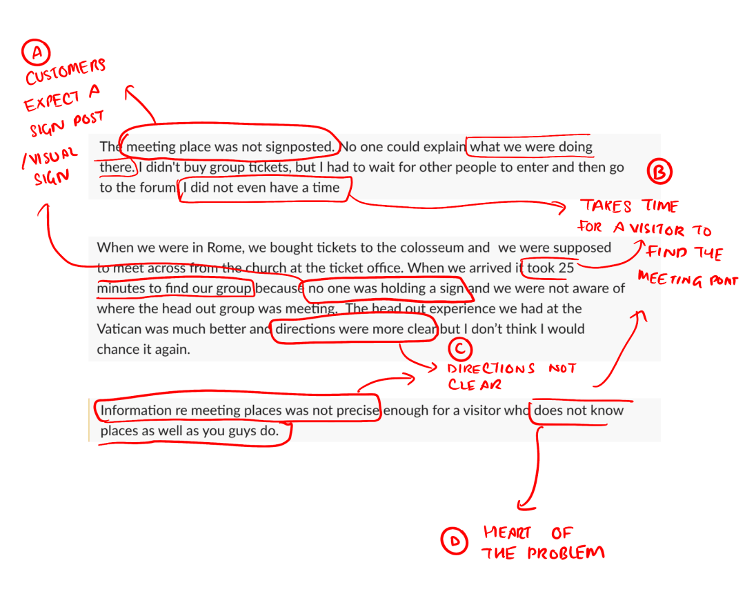 Here are some notes on what we can take away from the NPS comments